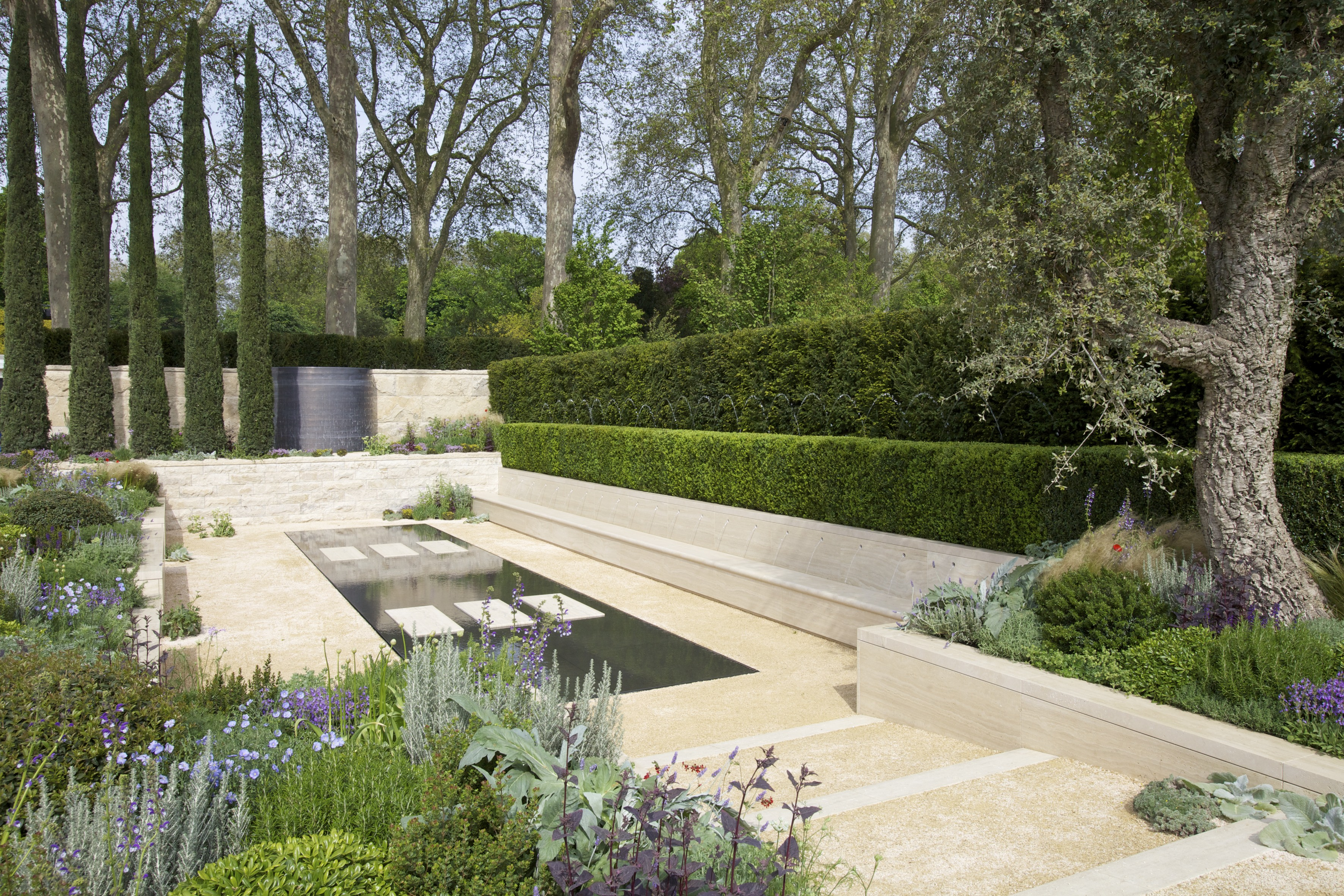 The Arthritis Research UK Garden by Tom Hoblyn – RHS Chelsea 2012