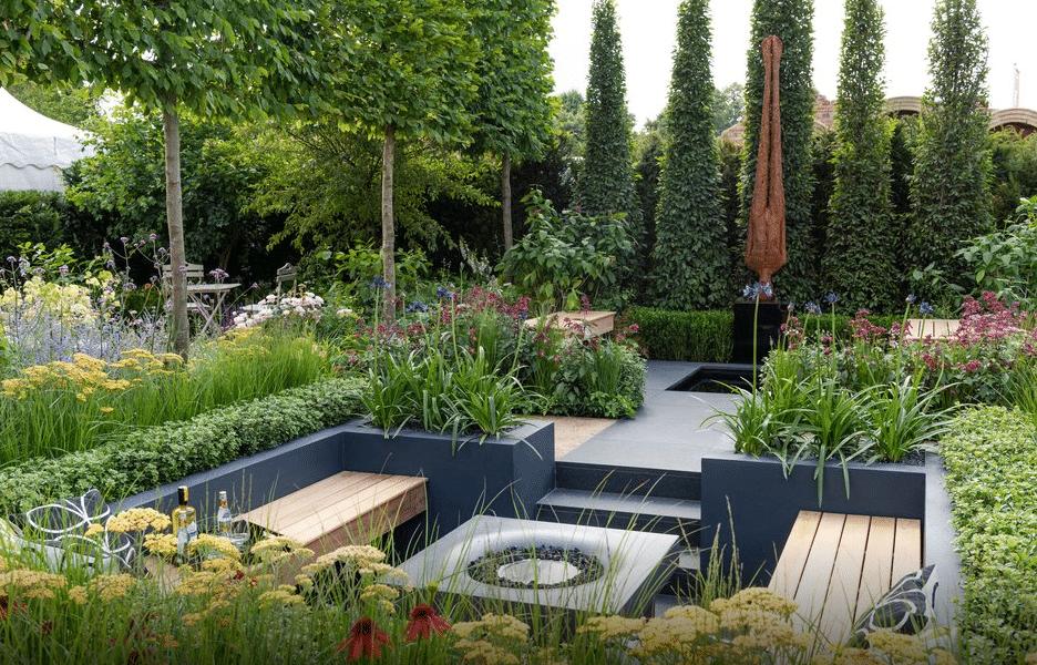 The BALI GoLandscape Garden by Rosemary Coldstream – RHS Hampton Court 2018